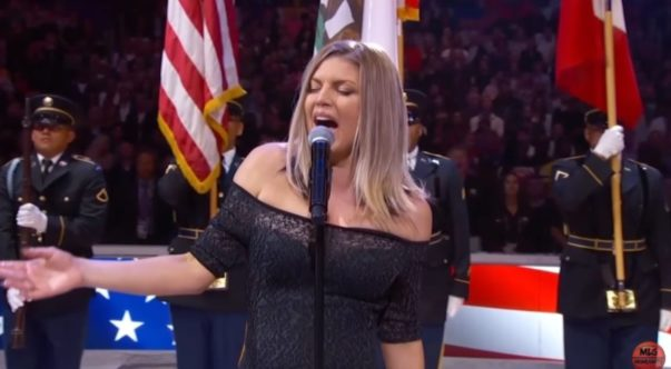 Fergie Responds to National Anthem Backlash, Says She Tried Her Best