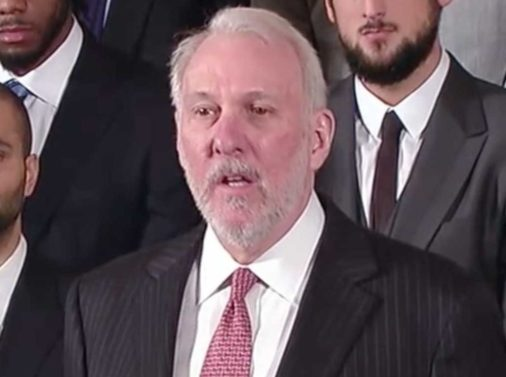 """Gregg Popovich: """"We Live in a Racist Country"""""""