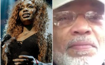 SZA and her Dad, SZA's