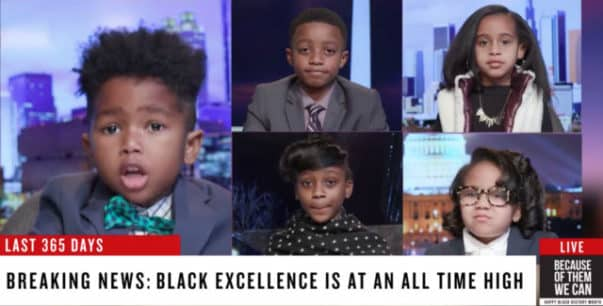 Kids Adorably Imitate CNN Panel for Black History Month (VIDEO)