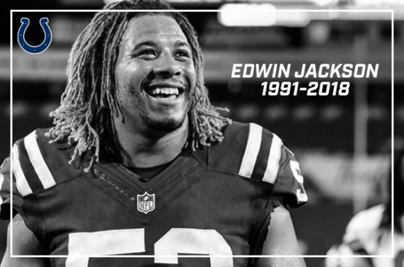 Indianapolis Colts Player Edwin Jackson Killed by Drunk Driver