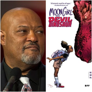 Laurence Fishburne and Marvel Unite for 'Moon Girl and Devil Dinosaur' Animated Series