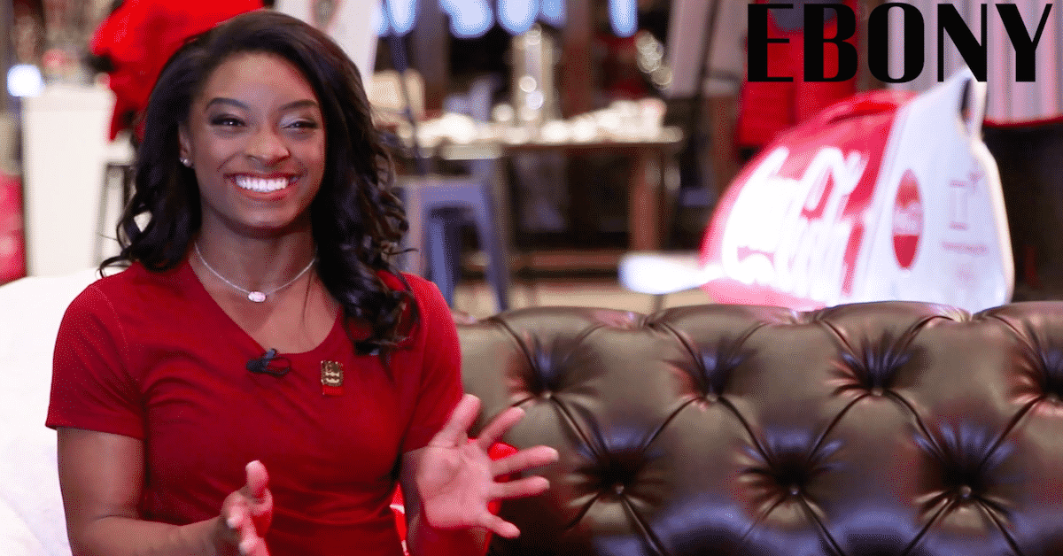 EXCLUSIVE: Simone Biles on Black Representation & Starting a Family
