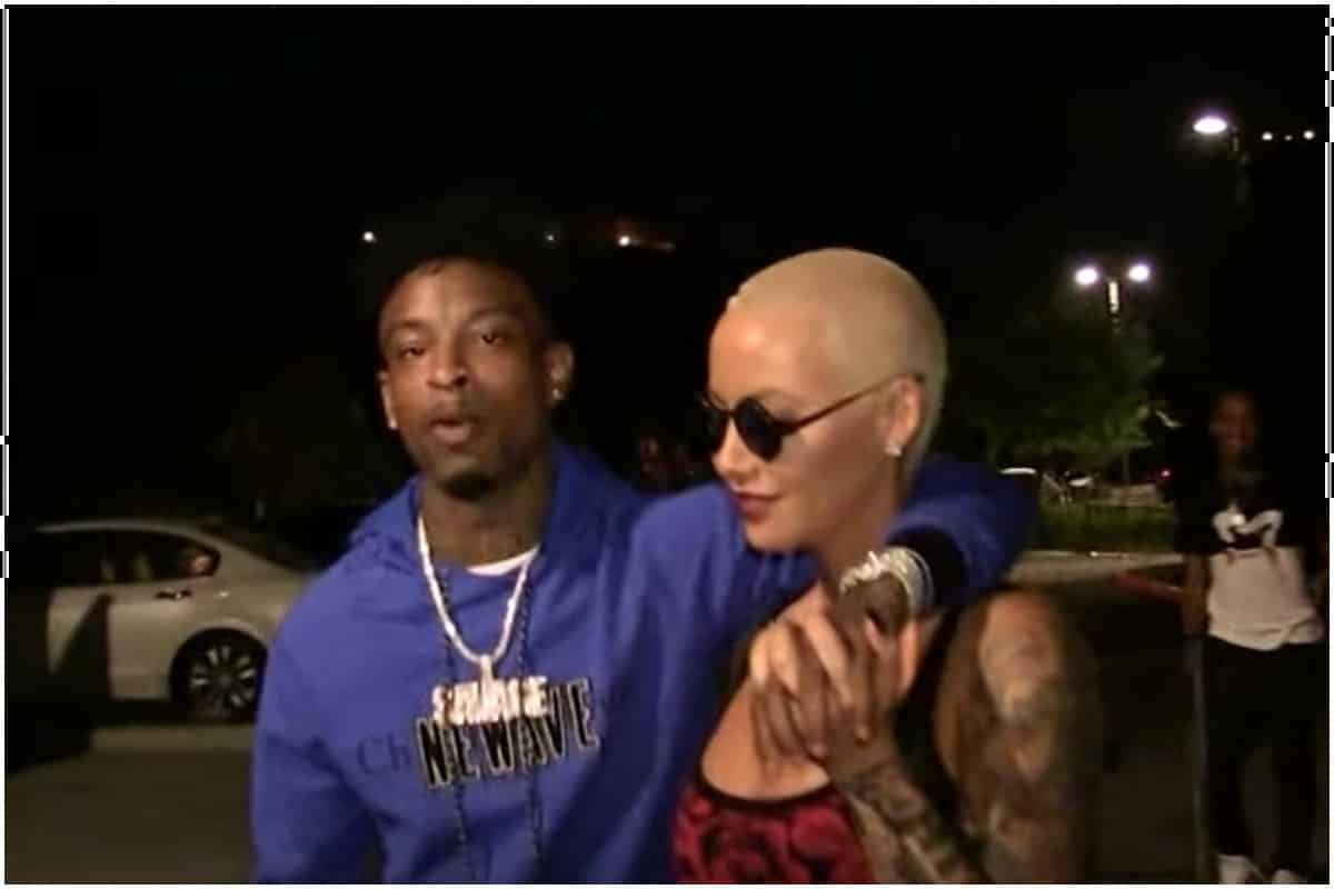 Who has amber rose dated in Melbourne