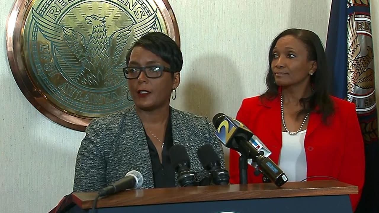 Atlanta Mayor Keisha Lance Bottoms, ICE