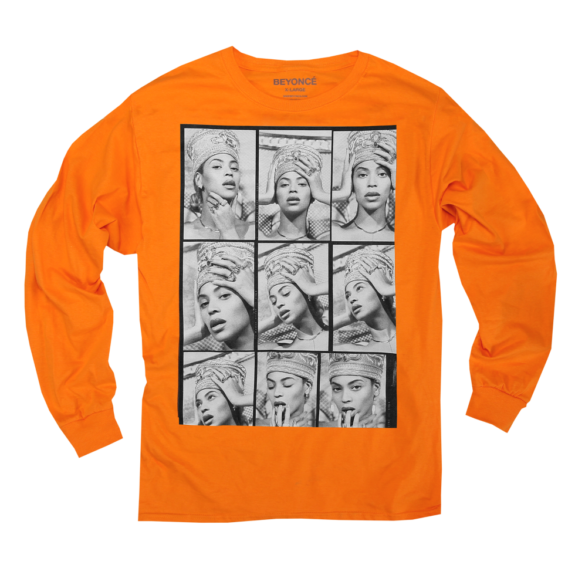 NEFERTITI CONTACT SHEET LONGSLEEVE, $45.00