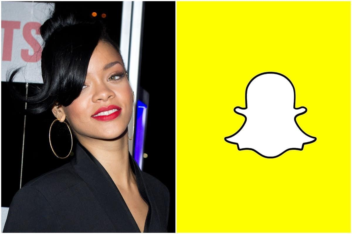 Rihanna, Snap Inc., Snapchat