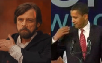 Mark Hamill Reveals Even Jedi Get Inspired by Barack Obama