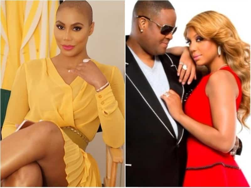 Tamar Braxton Claims She Wore Blonde Wigs To Please Husband