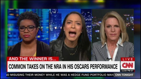 Angela Rye Blacks Out on NRA Supporter After Insulting Boyfriend, Common (VIDEO)