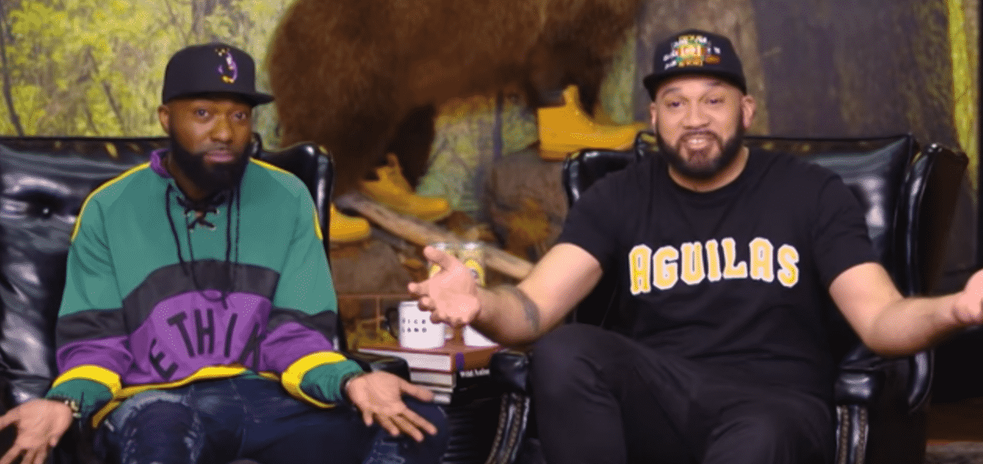 desus mero mock dj envy s confrontational interview and walk out