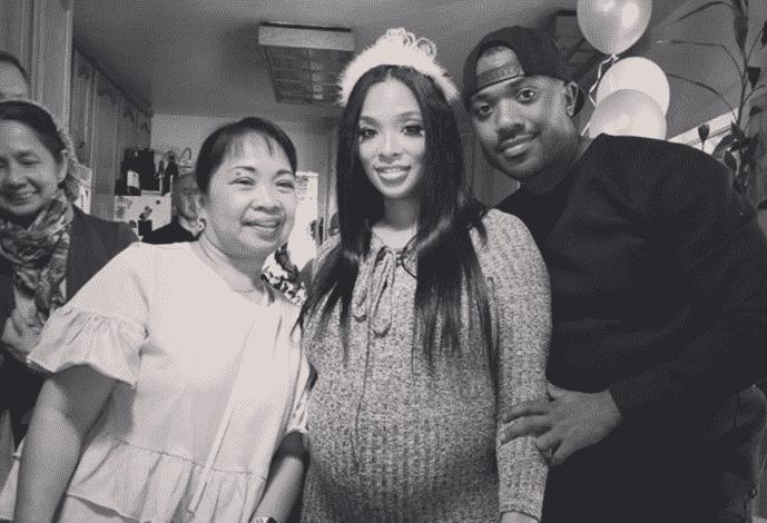 ray j  u0026 princess love reportedly having a baby girl