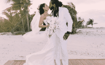 NFL's Richard Sherman Marries Longtime Girlfriend in Dominican Republic (PHOTOS)