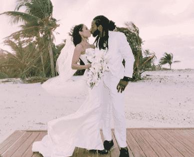 NFL's Richard Sherman Marries Longtime Girlfriend in Dominican Republic (PHOTOS)