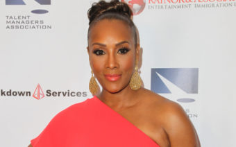 Something New! Vivica A. Fox Debuts New Look with Bright Blue Hair (PHOTOS)