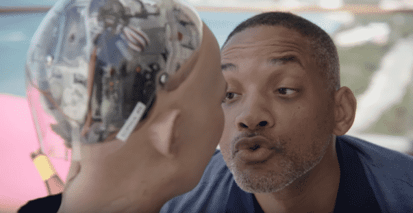 Will Smith Goes on Awkward Date with Sophia the Robot