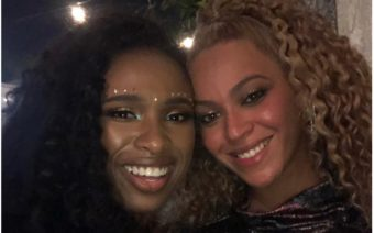 Beyoncé and Jennifer Hudson