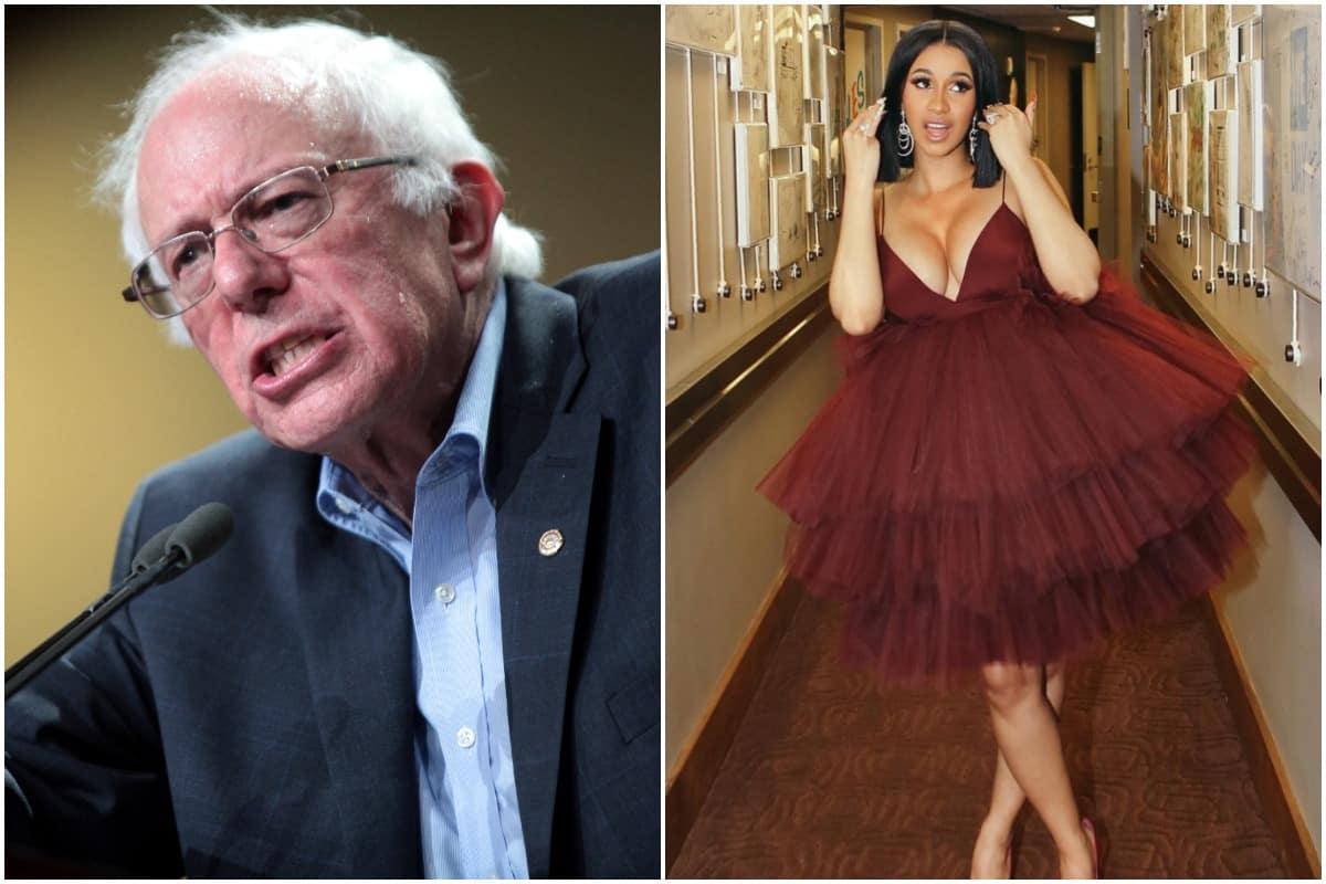 Cardi B, Bernie Sanders