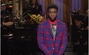 Chadwick Boseman, SNL, Saturday Night Live