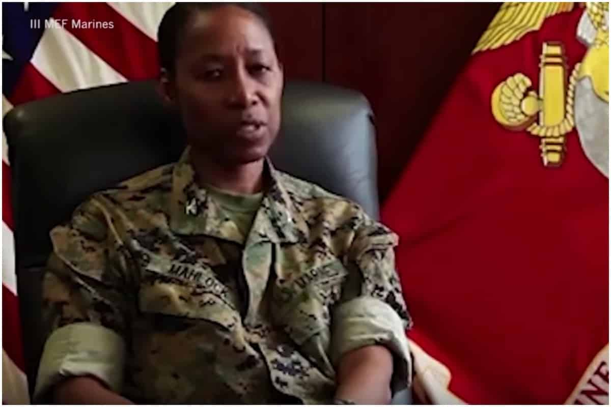 Marine Corp Picks First Black Woman to be General Officer