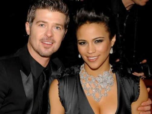 Paula Patton Reveals She Co-Wrote Songs With Robin Thicke Under a Pseudonym