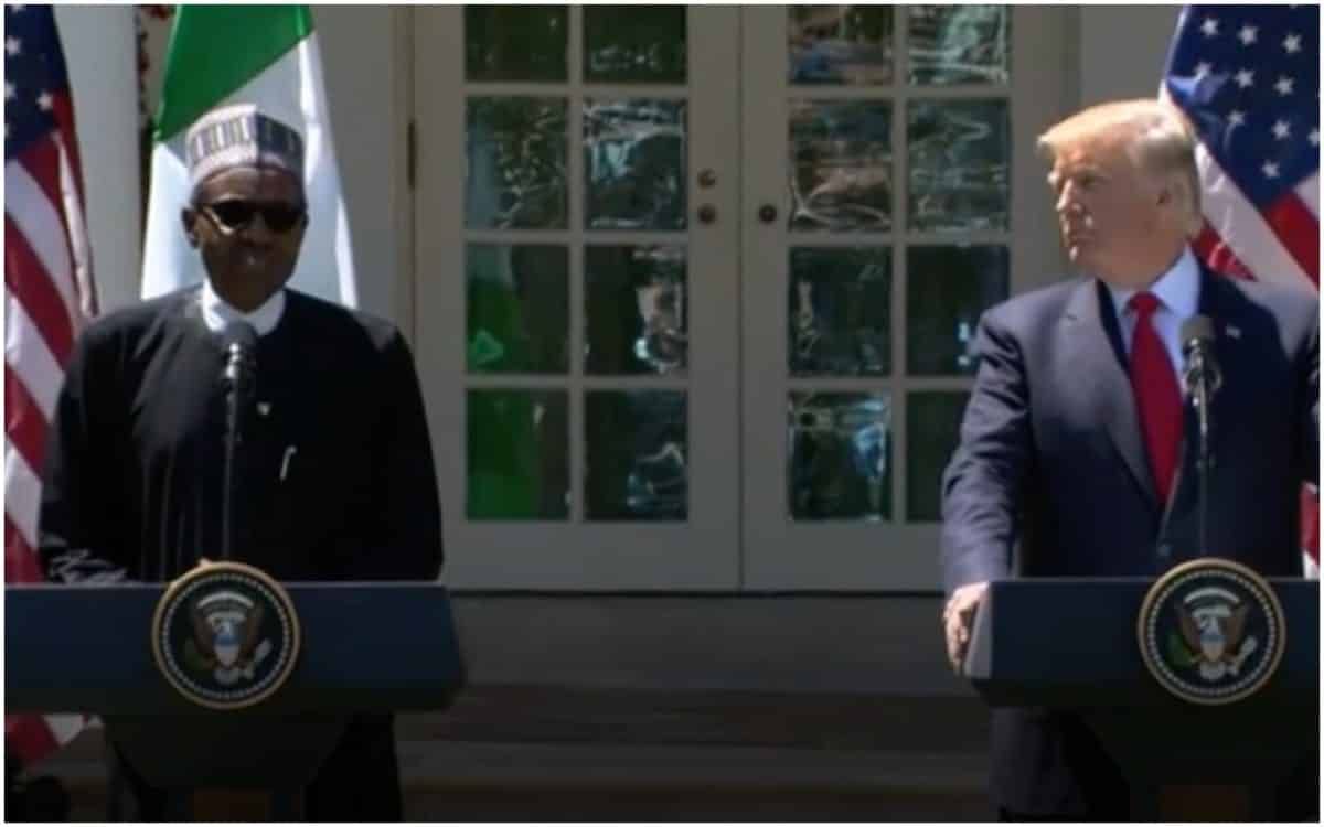 Nigerian President, Trump