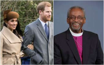 Prince Harry, Megan Markle, Bishop Michael Curry, royal wedding