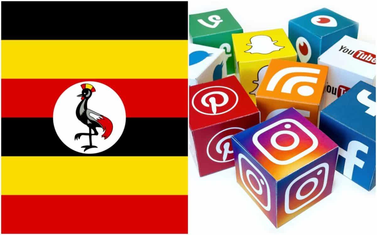 Uganda, social media