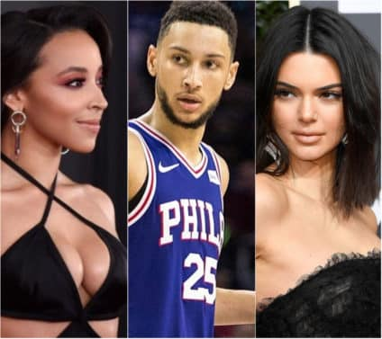 NBA's Ben Simmons Moves On From Tinashe to Kendall Jenner
