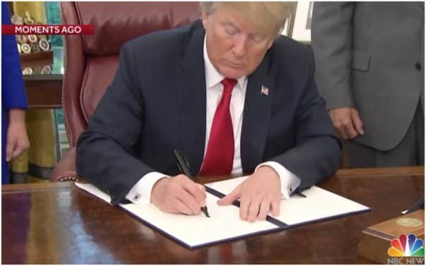 Donald Trump, Executive Order, Immigration