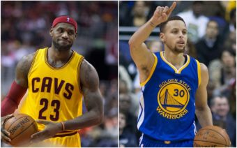 LeBron James, Steph Curry, NBA Finals