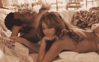 Beyoncé Poses Nude With JAY-Z for On the Run II Tour Book (PHOTOS)