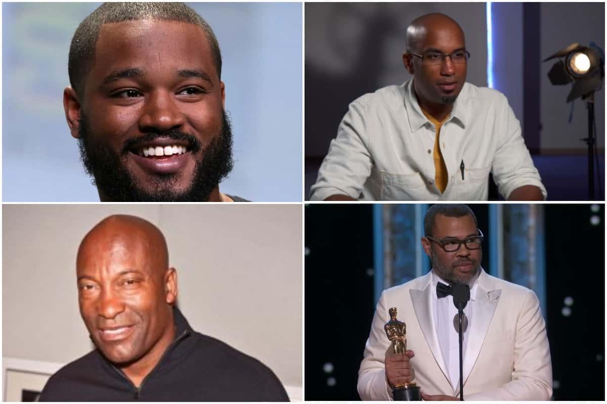 Black directors, Coogler, Peele, Story, singleton
