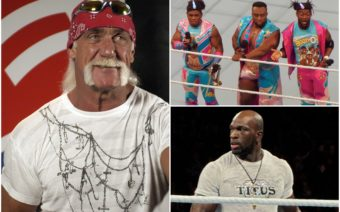 Hulk Hogan, New Day, Titus O'Neil, WWE