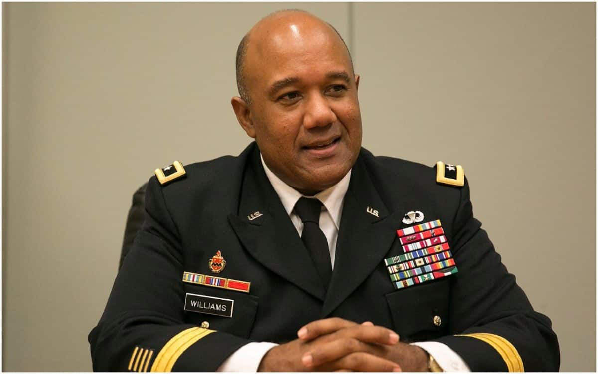 Lt. Gen. Darryl Williams, west point