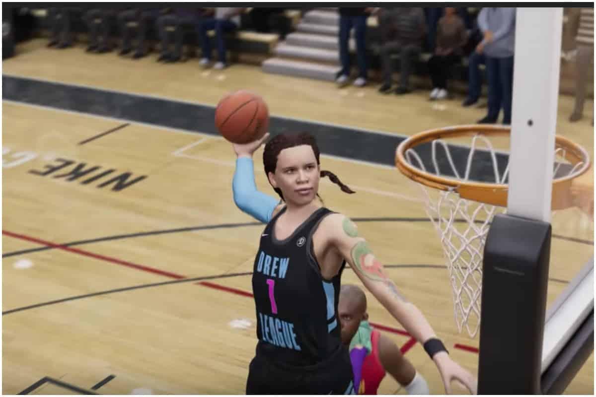 NBA Live 19, WNBA, basketball, female characters