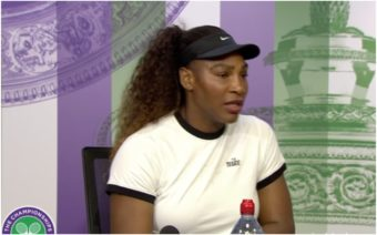 Serena Williams, Wimbledon, Drug tested