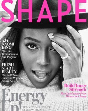 Aja Naomi King, SHAPE, Magazine Cover
