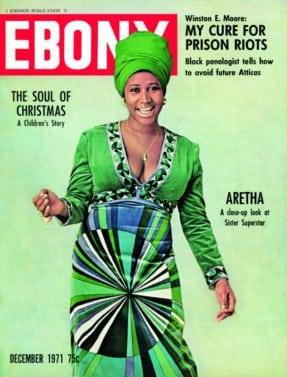 Aretha Franklin, EBONY magazine