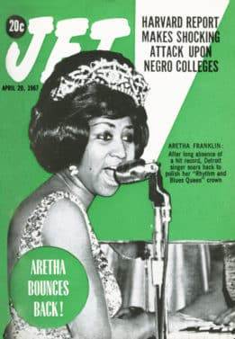 Aretha Franklin, JET Magazine, EBONY Magazine, April 20th, 1967