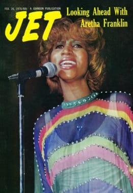 Aretha Franklin, JET Magazine, EBONY Magazine, Feb 26th, 1976