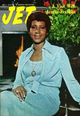 Aretha Franklin, JET Magazine, EBONY magazine, May 2, 1974