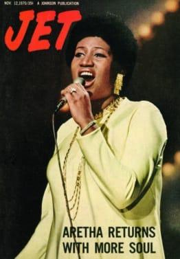 Aretha Franklin, JET Magazine, EBONY Magazine, Johnson Publication, November 12, 1970