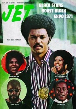 Aretha Franklin, JET Magazine, September 23, 1971, EBONY Magazine