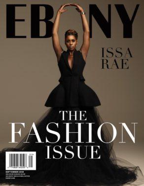 Issa Rae, EBONY, The Fashion Issue, Magazine Cover
