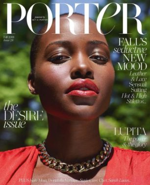 Lupita Nyong'o, PORTER, Magazine Cover