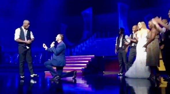 Mariah Carey Helps Dancer Propose to Boyfriend During Concert (VIDEO)