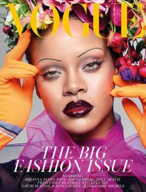 Rihanna, British Vogue, Magazine Cover