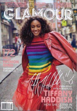 Tiffany Haddish, Glamour, Magazine cover