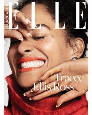 Tracee Ellis Ross, ELLE Canada, Magazine Cover